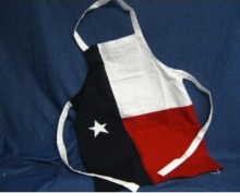 Texas Apron Flag