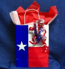 Texas Flag Gift Bag Packaging Set