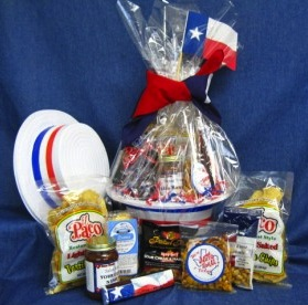Tip your hat to texas gift basket