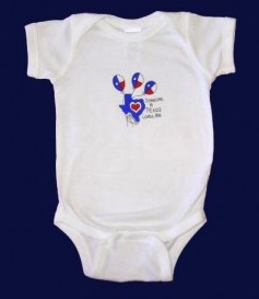 """Someone In Texas Loves Me"" Onesie"