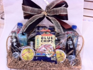 custom order texas treats basket
