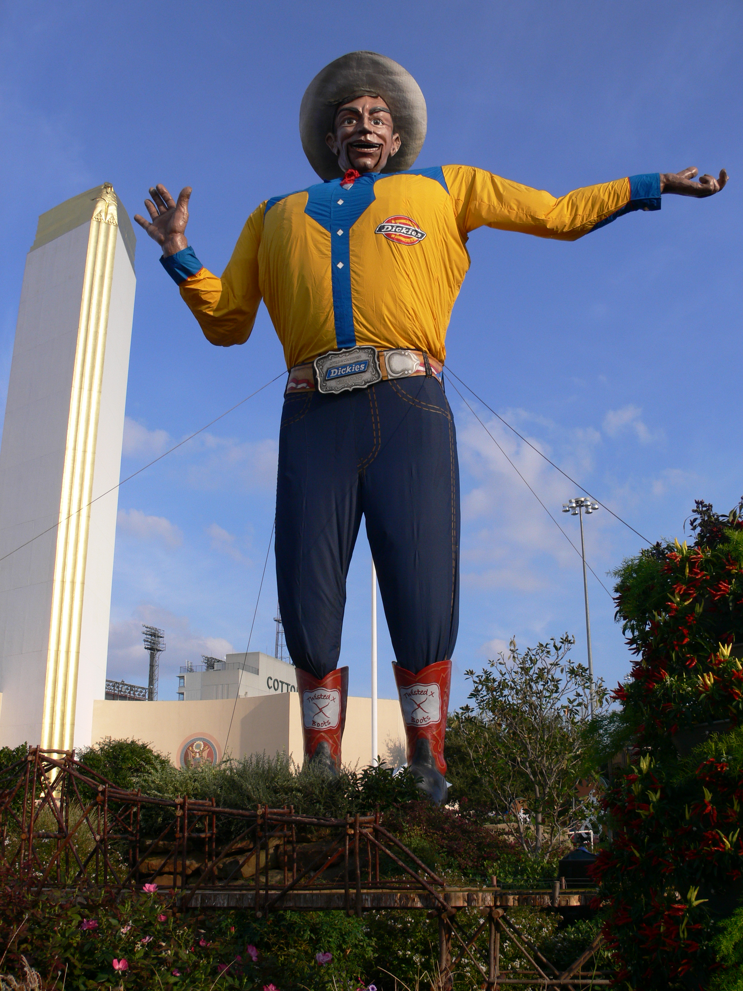 This is what big tex would send as a gift texas treats big tex the 52 foot texas icon has been through ringer this year on october 19 2012 our cultural ambassador at the texas state fair suffered a serious publicscrutiny Image collections