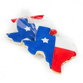 texas_shaped_cookie
