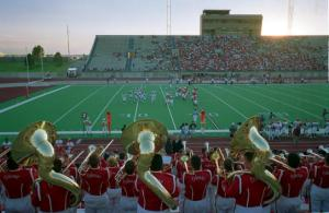 High School football season in Midland Texas
