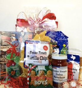 TX Treats - Holiday Dallas Basket