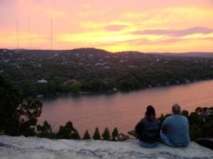 Mount Bonnel, Sunset sony f505v water
